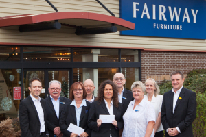 Fairway Furniture recognises long-serving staff