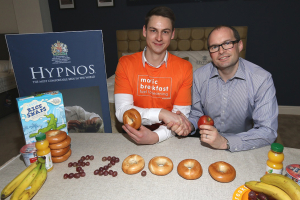 Hypnos launches new charity partnership with Magic Breakfast