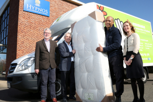 Hypnos teams up with local school to make mattresses for charity
