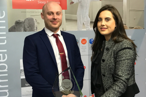 Slumberland's cot mattress wins Baby and Nursery Trade Award