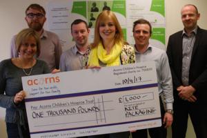 Kite Packaging donates to employee-nominated charities
