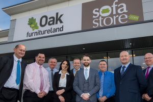 Oak Furniture Land opens first showroom in Wednesbury