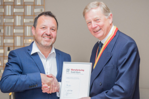 Delcor awarded Manufacturing Guild Mark