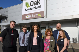 Oak Furniture Land opens first showroom in Haverfordwest