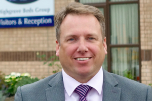 New group sales director for Highgrove Beds