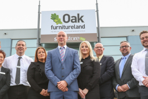 Oak Furniture Land opens sixth Welsh store