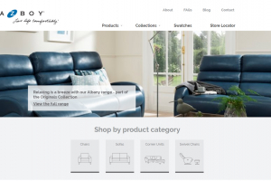 La-Z-Boy UK launches new consumer website
