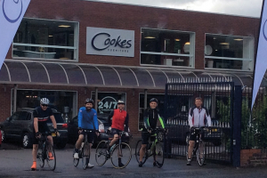 Cookes team gears up for Vélo Birmingham