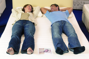 Online and in-store bed sales equal for first time, reveals NBF research