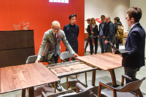 imm cologne sees increase in international visitors