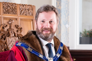Hayden Davies installed as industry charity master