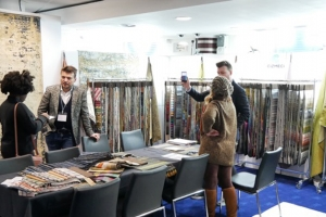 Fabric exhibition makes way for fixture changes