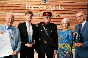 Bedmaker presented with Queen's Awards for Enterprise