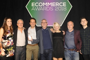 Arlo & Jacob wins ecommerce award