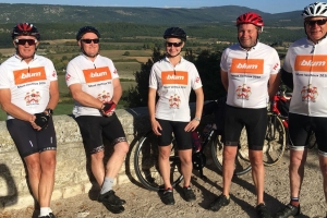 Furniture Makers ride raises £14,000