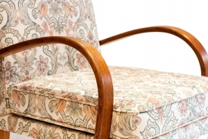 Historic chairs on display at January show