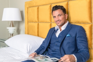 Peter Andre brings own range to Arighi Bianchi