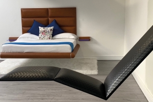 Floating bed, Levitas Design