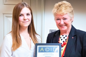 Parker Knoll employee wins ACID essay award