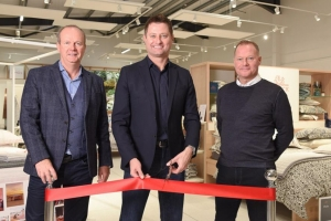 Bedlinen specialist unveils new showroom
