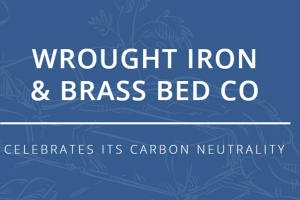 Iron bed supplier achieves carbon-neutral status
