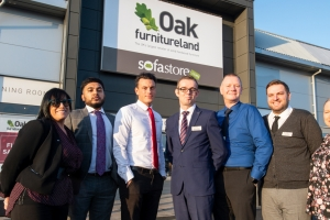 Oak Furnitureland opens first Crawleyshowroom
