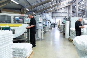 Manufacturing resumes at Harrison Spinks