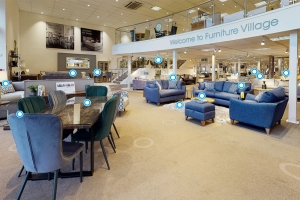 Furniture Village introduces virtual in-store shopping