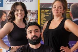 Ombudsman five take on Tough Mudder for industry charity