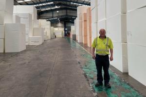 RFID enhances foam company's service