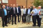 Belgian suppliers tour UK retailers
