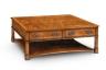 Burr walnut coffee table, Iain James Furniture