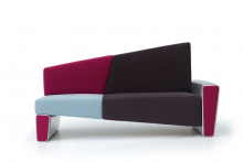 Confusion sofa, Dima Loginoff for Artex