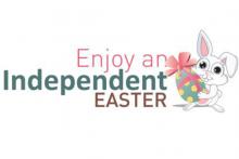 Enjoy an Independent Easter