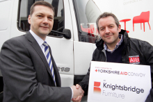 Knightsbridge lends aid to Eastern Europe