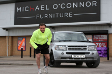 Michael O'Connor Furniture's marathon man