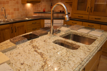 Granite worktops guarantee style
