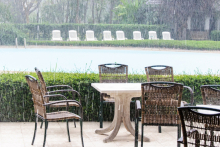 Preserving garden furniture in an unpredictable climate
