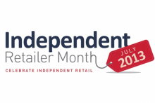 One week until Independent Retailer Month 2013