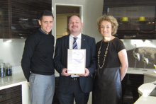 Kitchen and bedroom retailer awarded quality mark for installation excellence