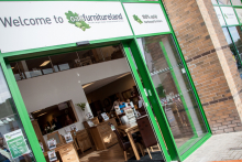 Oak Furniture Land opens Glasgow store