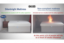 "Silentnight Group launches national campaign to expose ""death trap"" mattresses"