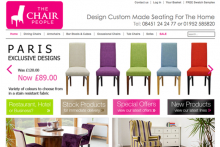 Chair sales soar thanks to 'design your own' service
