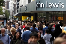 Lighting helps John Lewis end first trading period on a high