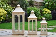 Metal lanterns, Allison Garden Land