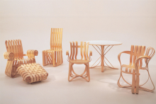 Bentwood collection, Frank Gehry