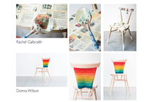 ercol sponsors A Child's Dream charity chair auction