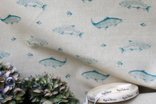 British wildlife inspired fabrics, KatieMosa