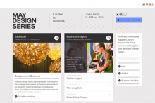 May Design Series unveils new website and branding