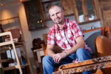 Commonwealth Games designer Paul Hodgkiss opens Glasgow interiors store